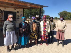 vrouwen in botswana